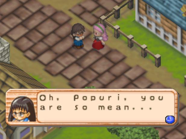 Content / Harvest Moon 64 / Girls Portal - Maria - Harvest